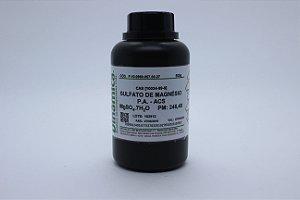 SULFATO DE MAGNESIO 7H2O PA 500G