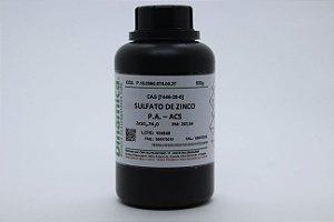 SULFATO DE ZINCO 7H2O PA 500G