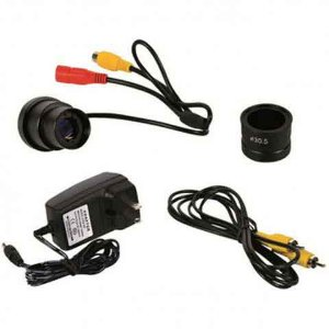 CAMERA CCD COM SAIDA RCA PARA DATA SHOW E TV