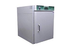 ESTUFA COM CIRCULACAO E RENOVACAO DE AR FORCADO MICROPROCESSADA 250L EM ACO CARBONO INTERIOR INOX