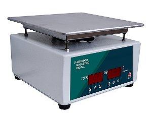AGITADOR MAGNETICO DIGITAL COM AQUECIMENTO 10L 3000RPM 110V