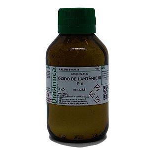 OXIDO DE LANTANIO 99,5% P/ ABSORCAO ATOMICA 100G