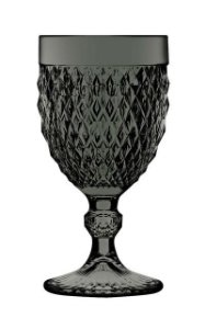 Taça Bico de Jaca Ateliê 340 ml - Fumê - Cx com 6 und