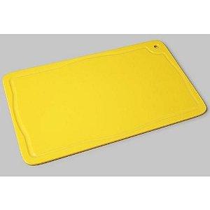 Placa Amarela Para Corte Com Canaleta 50x30x1,5cm - Pronyl