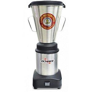 Liquidificador Skymsen LS-04MB-N 4L Inox Copo Monobloco - 220v