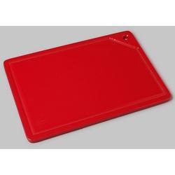 Placa Vermelha Para Corte Com Canaleta 50x30x1,5cm - Pronyl