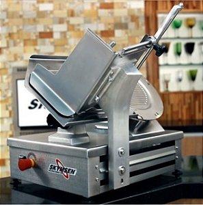 Cortador de Frios Automático Inox CA-300L Lâmina 260 mm 220V - Skymsen