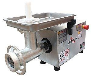 Picador / Moedor de Carne Inox PS-22 Boca 22 220V - Skymsen