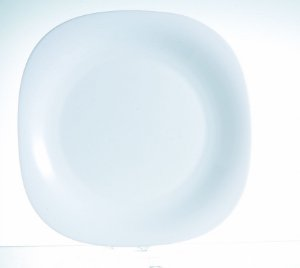 Prato Raso Carine Branco 26cm Arcoroc - Caixa com 12 und