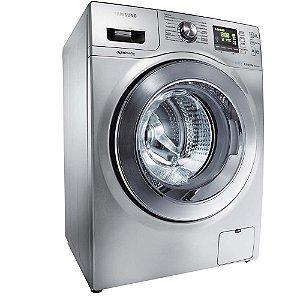 Lavadora/Secadora de Roupas Samsung WD856UHSA Prata com Display Digital, Sistema AIR Wash e 5 Programa de Lavagem - 8,5Kg