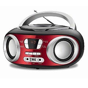 Rádio Portátil Mondial Boom Box Nbx17 Usb Auxiliar 6w