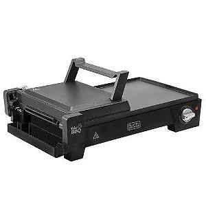 Grill elétrico 3 em 1 com abertura 180° Black & Decker G2200