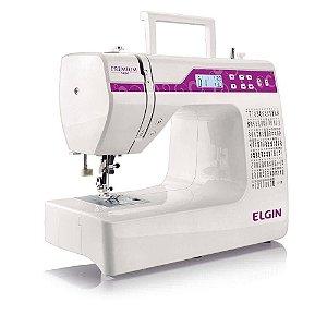 Máquina de Costura Elgin Bivolt Premium JX-10000 - 100 Pontos