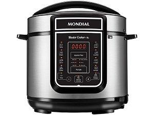 Panela de Pressão Elétrica Mondial Digital Master Cooker 5L Pe-38