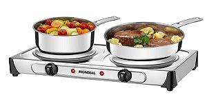 Fogão Elétrico Mondial Fast Cook Due - FE-03