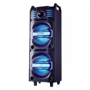 Caixa de Som Multilaser Party Speaker Dj Bluetooth 350W Rms Fm - SP285