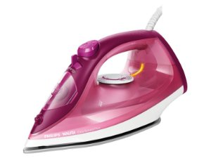 Ferro de Passar à Vapor Philips Easy Speed Plus 2300W Rosa - Ri2146