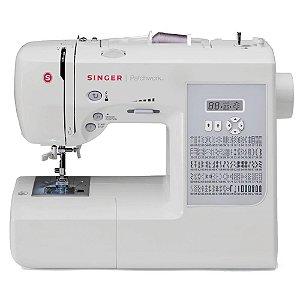 Máquina de Costura Eletrônica Singer Patchwork 7285 Branca