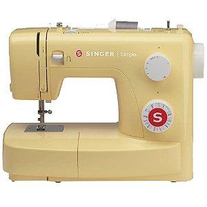 Máquina de Costura Mecânica Singer Amarela Simple 3223 Y