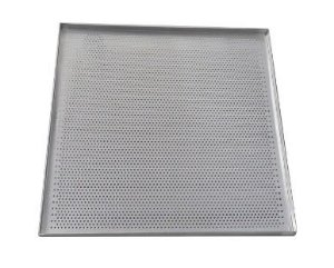 Assadeira de Alumínio Perfurada Prática para Miniconv SV e VP 0,8mm - 800008