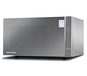 Micro-ondas Brastemp 32L Inox Espelhado com Painel Integrado BMS45CR