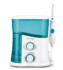 Irrigador Oral Clearpik Profissional Multilaser Limpeza Profunda 7 Bicos Branco/Azul - HC038
