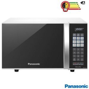 Micro-ondas Panasonic com 21 Litros de Capacidade Branco -NN-ST27JWRU