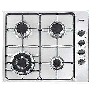 Cooktop Tramontina Bivolt Inox Square 4GX TRI 60 - 94701/211