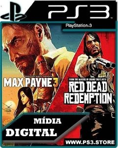 Max Payne 3 + Red Dead Redemption - Ps3