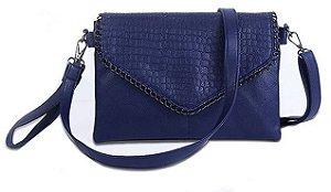 Bolsa feminina em couro, média e grande, da Ukaling, versátil, casual, espaço para celular e bolso com zíper
