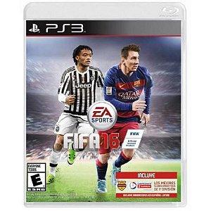 Jogo para PS3 Playstation 3 Fifa 16 Ea Sports frete gratis