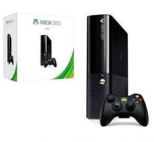 Console Xbox 360 App Super Slim 4GB com 10 Jogos variados