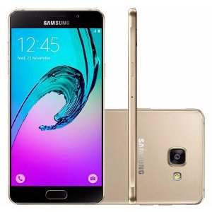 Smartphone Samsung Galaxy A5 2016 4G 16GB Duos Dual Chip Tela 5.2 13MP-5MP Android 5.1