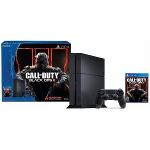 Console Playstation 4 500GB c/Jogo Call Of Duty Sony Preto