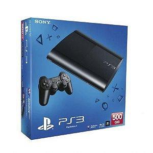 Console PS3 App 500GB Super Slim Americano Sony