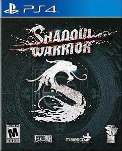 Jogo Playstation PS4 Shadow Warrior