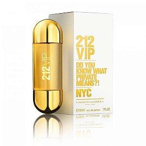Perfume Carolina Herrera 212 Vip Eau de Parfum Feminino 30ml e 50ml
