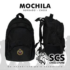 Mochila - Bordado Chess