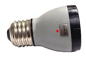 LÂMPADA LED PAR 16 E-27 VERMELHA