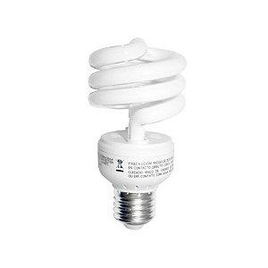 Lâmpada Fluor. Eletrônica Espiral Mini Twister 110-130V 8W 827