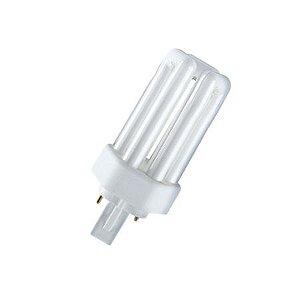 Lâmpada Fluor. Compacta Dulux T 2 Pinos 18W 840 4100k GX24d-2