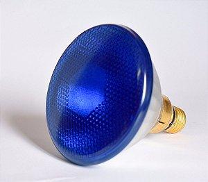 Lâmpada Incandescente PAR 38 120V 85W Azul