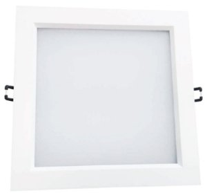 LED LUMI SQUARE DOWNLIGHT 24W 3000K BIVOLT