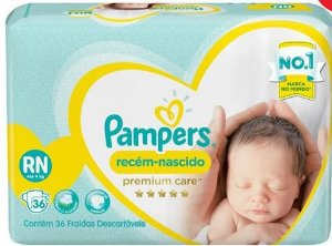 Fraldas Pampers RN 36