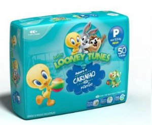 Fraldas Pampers Looney Tunes P