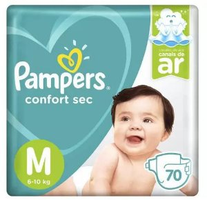 Fraldas Pampers M