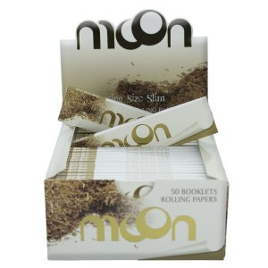 PAPEL DE SEDA MOON BROWN KING SIZE (CAIXA COM 50)