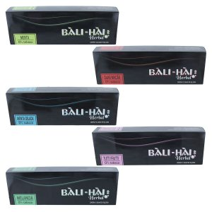 PACK COM 10 ESSÊNCIAS BALI HAI HERBAL 0% TABACO