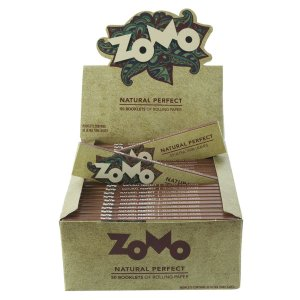 PAPEL DE SEDA ZOMO BROWN KING SIZE (CAIXA COM 50)