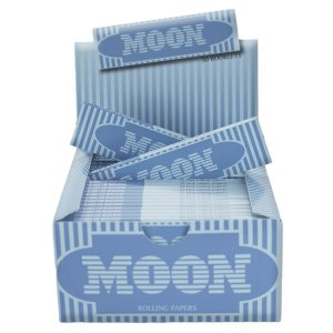 PAPEL DE SEDA MOON BLUE KING SIZE (CAIXA COM 50)